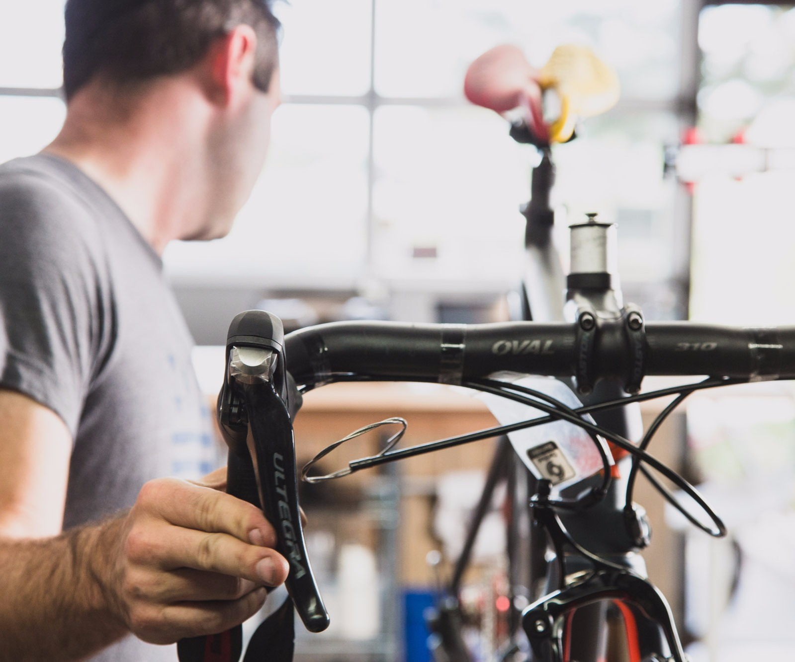 Full service bike repair shop